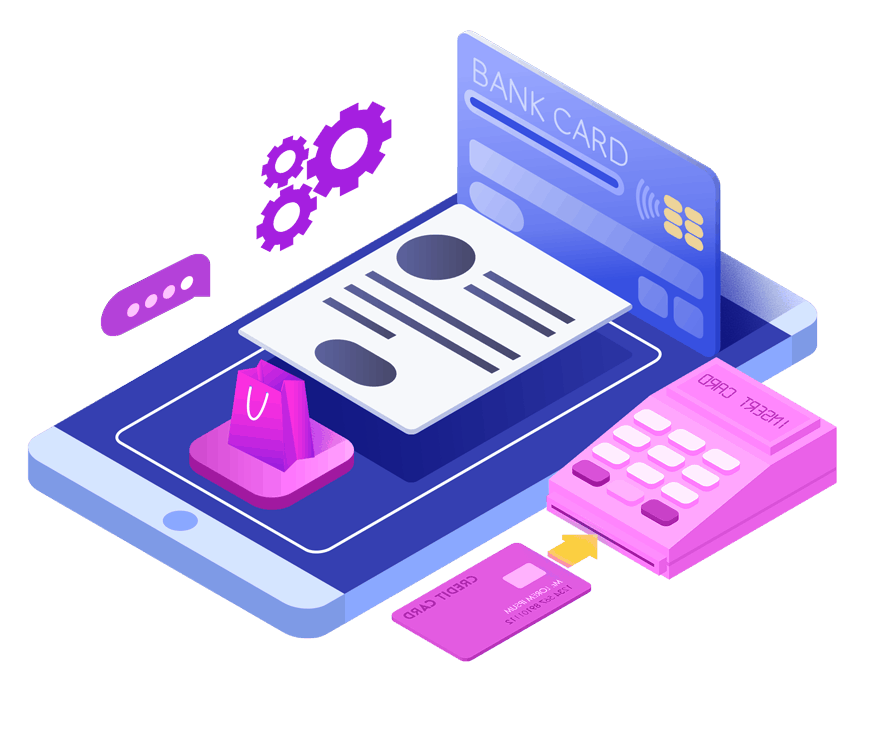 Electronic Credit Card Payment Icon